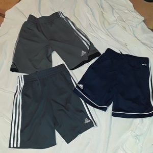 3 pair Adidas all in excellent condition sz/10/12